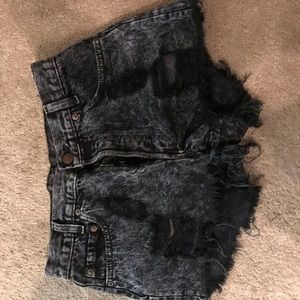 High waisted short from urban outfitters
